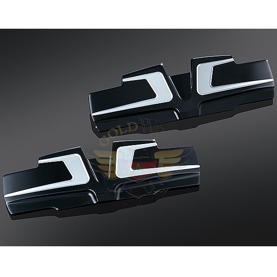 BAHN ROCKER COVER ACCENTS FOR TWIN CAM 6920