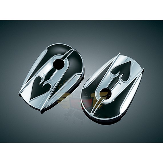 COVERS FOR STOCK H-D MIRRORS, SPADES 1755