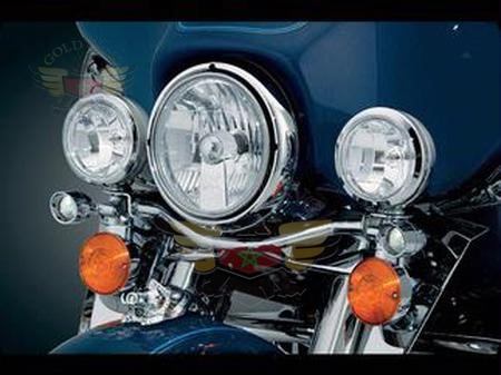 """X SIGHTING LIGHTING 7"""" H.I.D. - H-D TOURING"""