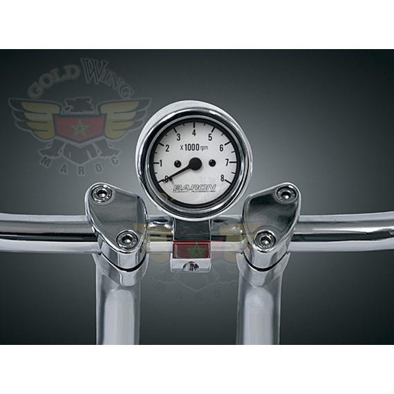 """3"""" BULLET TACHOMETER, 7 COLOR"""
