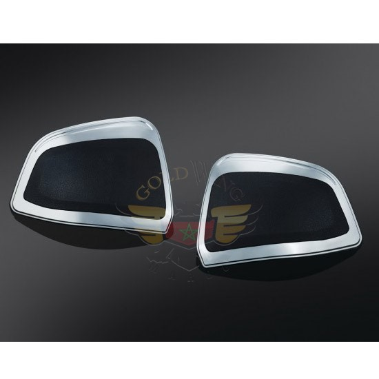 Chrome Front Saddlebag Kick Protectors 3919