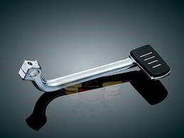TRIDENT WIDE BRAKE PEDAL WITH CHROME ARM 4077