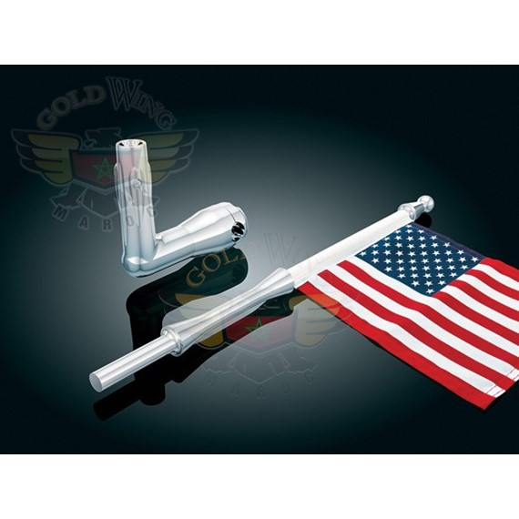 """FLAG HOLDER F/1/2"""" DIA. ROUND BAR, UNIVERSAL"""