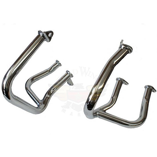 NEW 01-13 CHROME CASE GUARDS 2013 45-1637