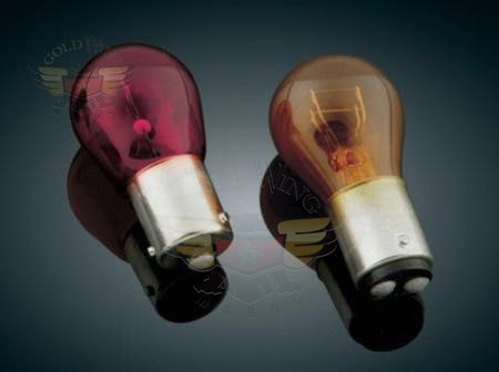 PR21W RED TURN SIGNAL BULB, SINGLE FILAMENT