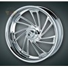 CARTEL CHROME WHEEL KIT,  02- 03 FLH  MODELS