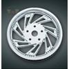 CARTEL CHROME REAR BELT SPROCKET,  04- 06 FLH  MODELS