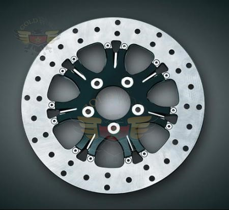 CHROME HARDWARE FOR REAR ROTORS,