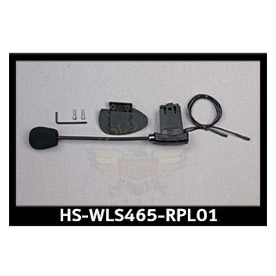 RPL PERF BLUETOOTH HEADSET BOOM/CLAMP ASSY HS-WLS465-RPL01