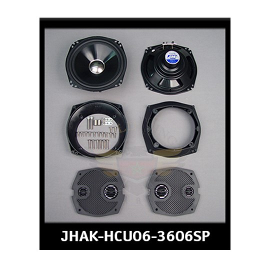 J&M HAR AUDIO KIT 360W 6-SPKRS 06-13 ULTRACLASSIC JHAK-HCU06-3606SP