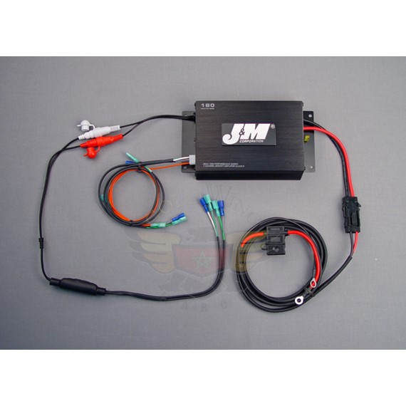 PERF 180W 2-CH AMP KIT 98-13 HARLEY UNIVERSAL JMAA-1800H-UNV