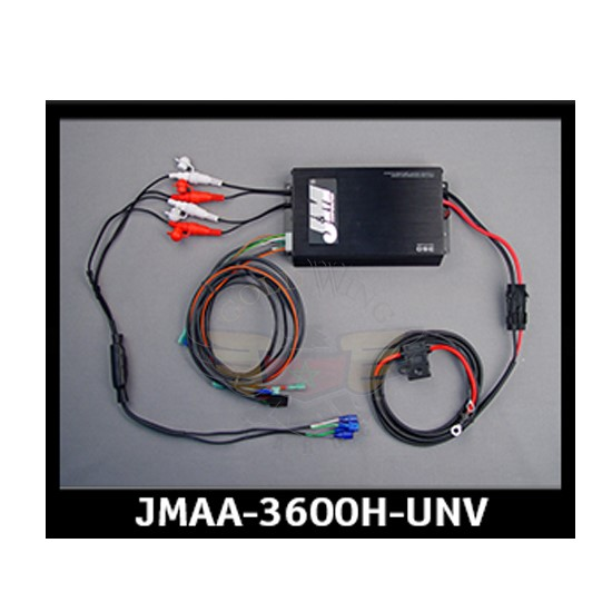 PERF 360W 4-CH AMP KIT 98-13 HARLEY UNIVERSAL JMAA-3600H-UNV