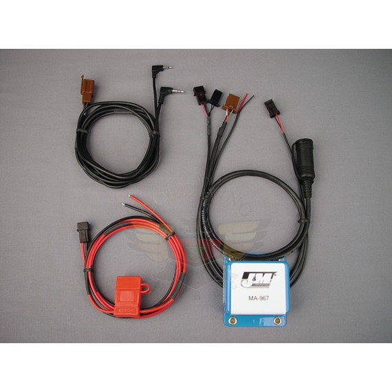 STEREO HEADSET AMP W/MIKE RETURN/RADAR CAPABLE MA-967